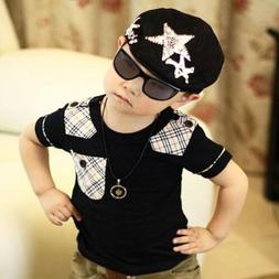 1*Black Cute Boy's Baby Girls Hat Casquette Peaked Baseball