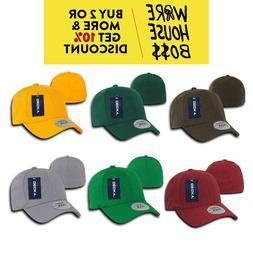 DECKY 1016W MENS FLEX FIT HAT CLASSIC BASEBALL HATS PRE-CURV