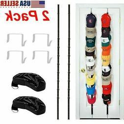 2pcs baseball cap hat holder rack storage