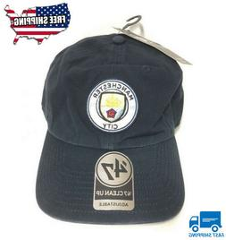 '47 BRAND NEW Manchester City EPL Cap Clean Up Adjustable, N