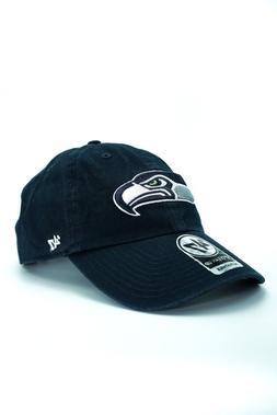 buy online bd1a1 52b20  47 Brand NFL Seattle Seahawks Blue Clean Up Adjustable Hat