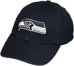 '47 Brand Seattle Seahawks Cleanup Adjustable Hat - Navy Blu