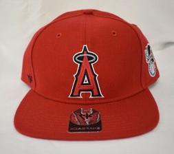 '47 Brand Los Angeles Angels Sure Shot Mens Snapback Hat B-S