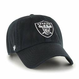 '47 Oakland Raiders Cleanup Adjustable Hat - Black
