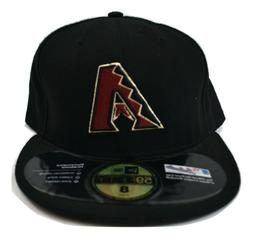 New Era 59Fifty Mens MLB Arizona Diamondbacks Baseball Fitte