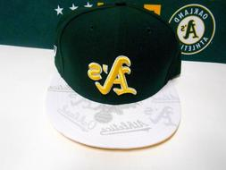 NEW ERA 59Fifty MLB Baseball Cap Hat Athletics Oakland A's W