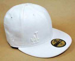 New Era 59Fifty MLB Baseball Cap Los Angeles Dodgers White F
