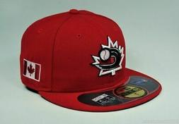 New Era 59Fifty WBC Cap Canada World Baseball Classic 2013 S