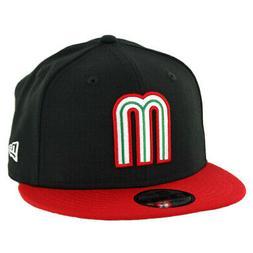 New Era 9FIFTY Mexico Baseball Snapback Hat  Men's M Logo Ca