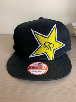 New Era 9Fifty Rockstar Energy Baseball Trucker Hat Cap Snap