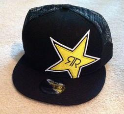 New Era 9Fifty Rockstar Energy Baseball Trucker Hat Cap Snap