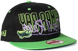 New Era 9Fifty Tampa Bay Devil Rays Black & Green Snapback M
