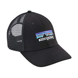 Patagonia Mens P-6 Trucker Snapback Cap/Hat 38017 Black