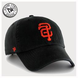 San Francisco Giants MLB 47 Brand Clean Up Adjustable Dad Ha