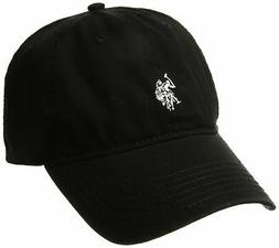 U.S. Polo Assn. Women's Washed Baseball Cap, Curved Brim, Ad