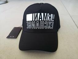 Armani Exchange A|X Men's Baseball Cap/Hat Black