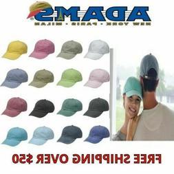 ADAMS Low Profile Pigment Dyed Optimum Baseball Cap Men's/Wo