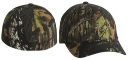 Adult Camo Baseball Cap Hat Flexfit Mossy Oak Break Up Hunti
