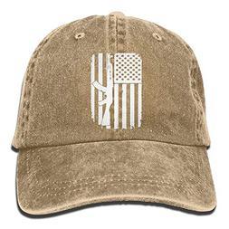 df3f37164275c Doormat bikini AK-47 Kalashnikov USA Flag Adjustable Golfer