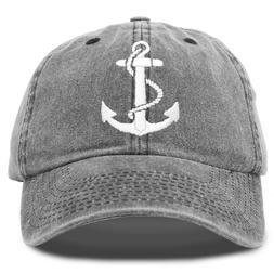 DALIX Anchor Hat Sailing Baseball Cap Women Beach Gift Boati