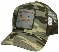 Goorin Bros. Animal Farm Trucker Snapback Hat Cap Camo Camou