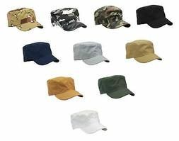 Army Cadet Military Patrol Castro Cap Hat Golf Driving Summe