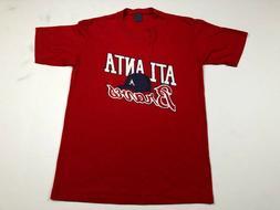 Atlanta Braves baseball hat 2019 NL East champs RED T-Shirt