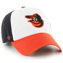 Baltimore Orioles MLB '47 CLEAN UP Team Cap Hat Adjustable S