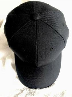 Top Level Baseball Cap Adjustable Strap, Black NWT