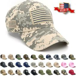 37a8a479735de Baseball Cap Mens Tactical Army Cotton Military Dad Hat USA