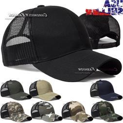 baseball cap trucker hat snapback solid visor