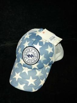 BILLABONG Baseball. Stars Cap Hat Adjustable Snapback Trucke