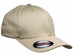 Big Size Khaki 4XL FlexFit Baseball Cap  BIGHEADCAPS