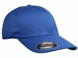 Big Size Royal Blue 4XL FlexFit Baseball Cap BIGHEADCAPS