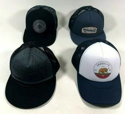 Billabong Quiksilver RVCA Mesh Trucker Hat Blue Snap Back Ba
