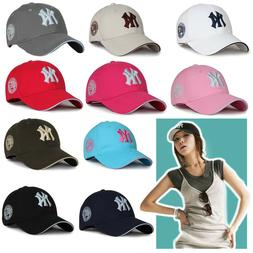 Grey NY New York Yankees Hats Caps Mens Womens Baseball Caps