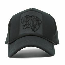 Black Curved Baseball Cap Summer Mesh Snapback Caps Hats Men