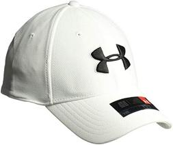 Under Armour Men's Blitzing 3.0 Cap, White /Black, Small/Med