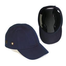 Blue Baseball Bump Cap - Lightweight Safety hard hat head pr