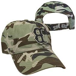 Boston Red Sox Camo '47 Brand Tarpoon Adjustable Hat