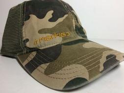 CARHARTT Brand Mesh Back Trucker Baseball Hat Cap 101194 Gre
