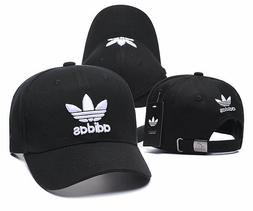 Brand New Adidas Adjustable Size Stripe Back Dad Baseball Ha