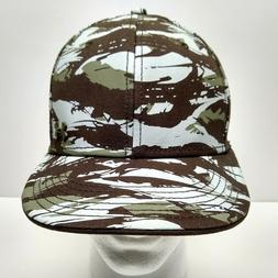 Under Armour Brown Army Green Camo Baseball Cap Hat Adjustab