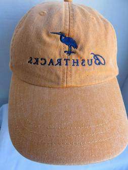 Bushtracks Baseball Hat Orange Animals Birds Africa Golf Cap