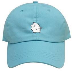 City Hunter C104 Cute Cat Cotton Baseball Dad Cap 25 Colors