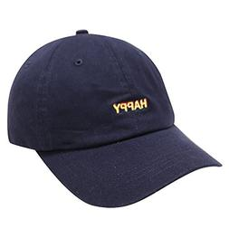 City Hunter C104 Happy Small Embroidered Cotton Baseball Cap