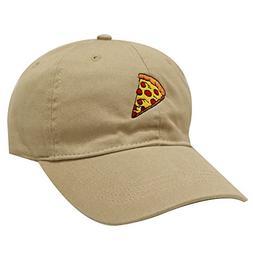 City Hunter C104 Pepperoni Pizza Cotton Baseball Dad Caps 14
