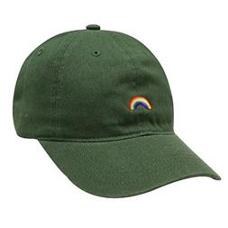 City Hunter C104 Rainbow Cotton Baseball Cap 12 Colors