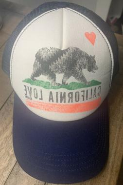 Billabong California Love Adjustable Snap Baseball Cap Hat O