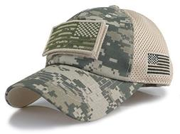 Camouflage Constructed Trucker Special Tactical Operator For